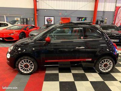 Fiat 500 ROSSO AMORE 12 69cv TOIT OUVRANT   - 1