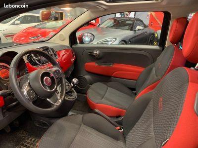 Fiat 500 ROSSO AMORE 12 69cv TOIT OUVRANT   - 4