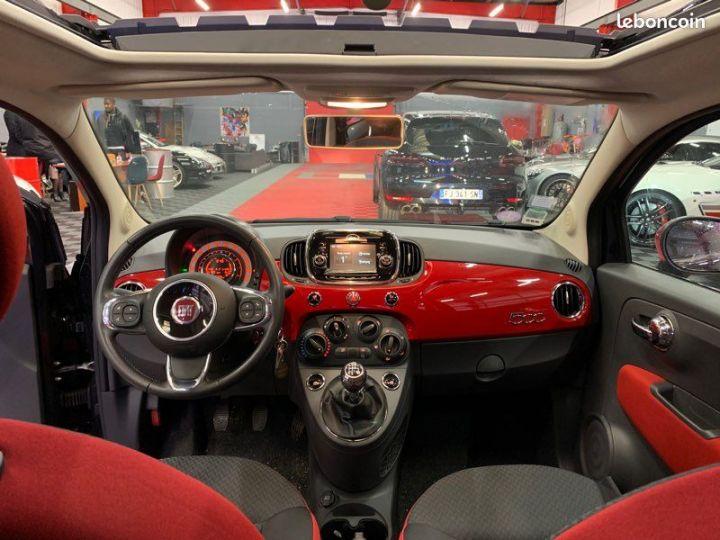 Fiat 500 ROSSO AMORE 12 69cv TOIT OUVRANT - 5